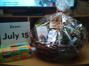 ASRC prize basket