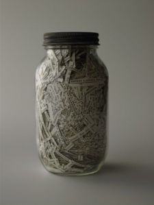 Book in a jar