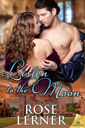 Cover of Listen to the Moon; a half-naked couple embrace